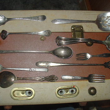 various strange spoons?  - Sterling Silver