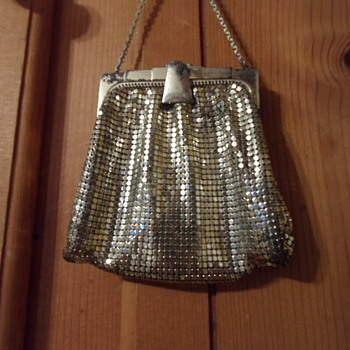 My Thrifted Whiting & Davis mesh mini - Bags