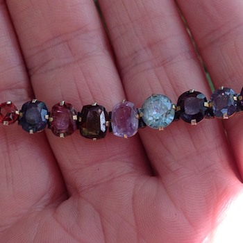 Victorian Mixed Gem Bracelet
