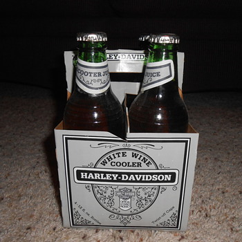 1985 harley davidson white wine coolers - Motorcycles