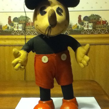 Mickey Mouse doll (not a toy)