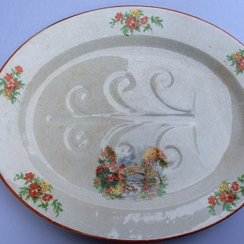 Antique platter