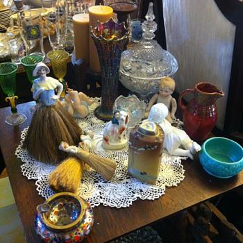 sylvac /english pottery etc - Glassware