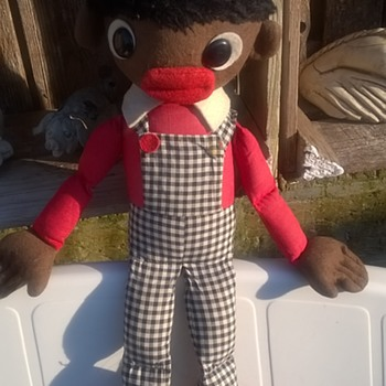 Golliwog! Thrift Shop Find 1,50 Euro ($1.65)