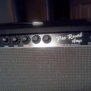 mysterious fender 63-67 pro-reverb /dual showman ps15 - Guitars