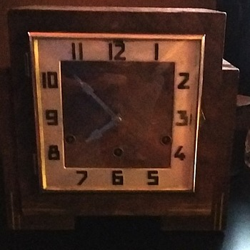 mantel clock anvil movement westminster chimes - Clocks