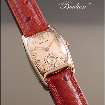 Hamilton 19-Jewel Boulton Wristwatch c.1941 - Wristwatches