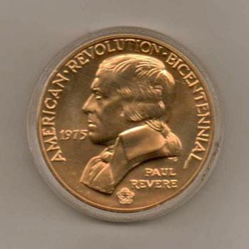 1975 - (Bicentennial Medal) - Paul Revere