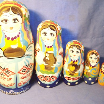 Can anyone help me understand these nesting dolls.
