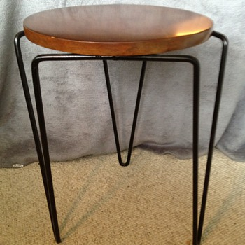 Mid Century Modern Stackable Side Table