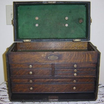 Here's the first chest in the display - Tools and Hardware