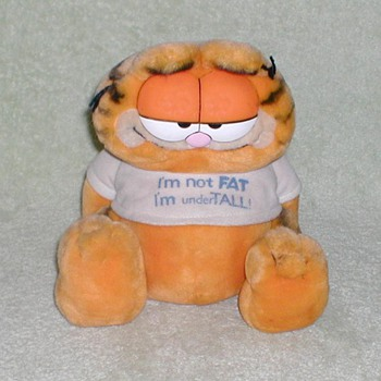 1981 Garfield Stuffed Animal - Toys