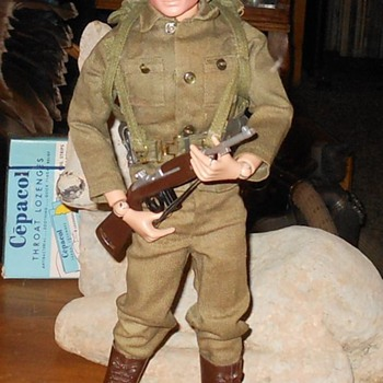 1964 GI Joe Action Soldier Super Clean