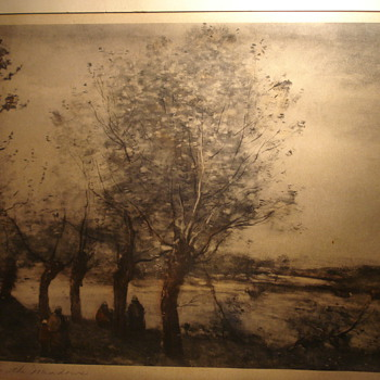 Jean-Baptiste Camille Corot Print