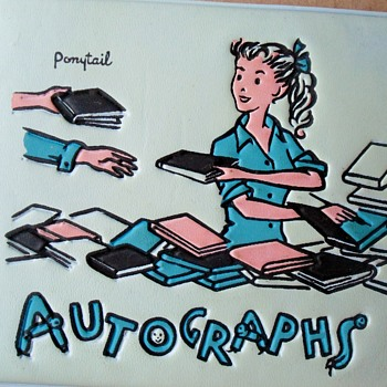 Ponytail Autograph Book 1960