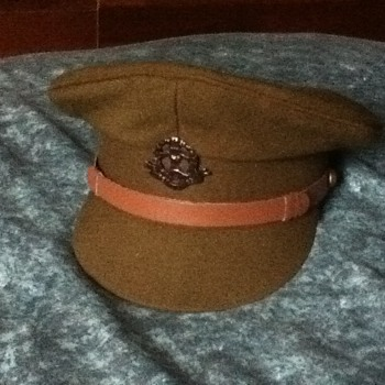 WW1 BRITISH OFFICER CAP