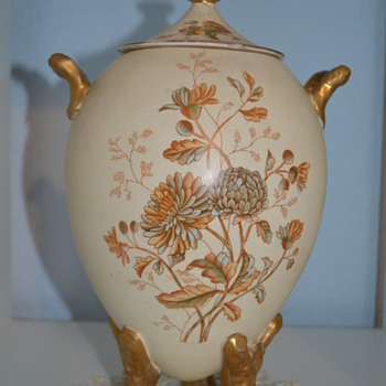 Another SF & Co vase with Royal Windsor pattern - Pottery