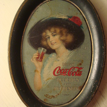 Coca-Cola tip trays