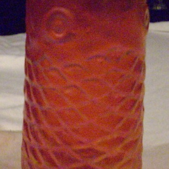 Fish vase.  - Art Glass