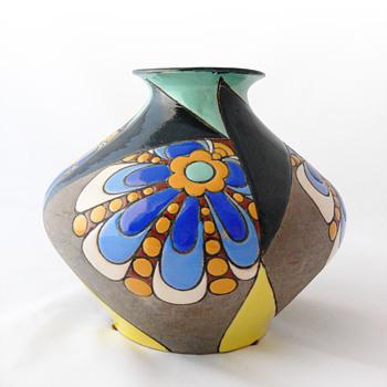 Art Déco pottery vase, ca. 1930