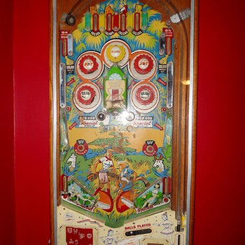 Pinball on a Wall