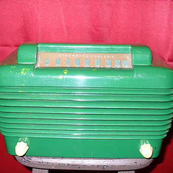 1951 AM Radio, Stromberg/Carlson.