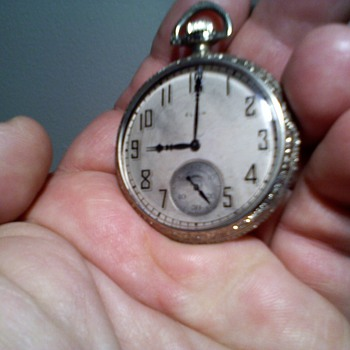 another art deco style Elgin Pocketwatch - Pocket Watches