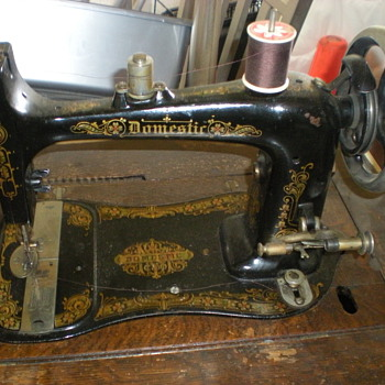 Unknown Domestic Sewing Machine Model? - Sewing