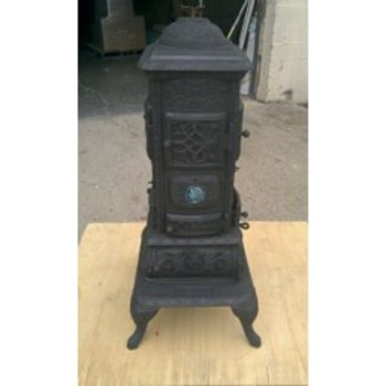 Isaac a Shepard Coal Stove - Kitchen