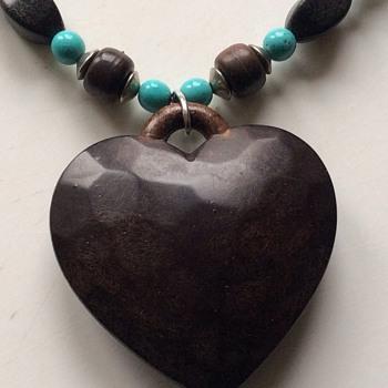 Unusual vintage necklace - Costume Jewelry
