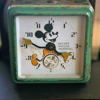 English Variant Mickey Mouse Clock...Variant #1 - Wristwatches