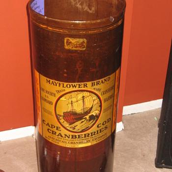 Cape Cod Cranberry Barrel
