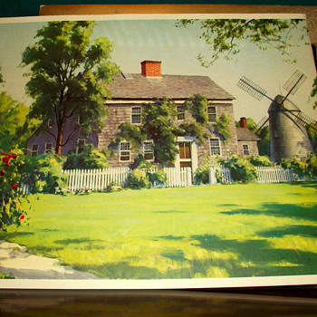 My Fav Art Print-Harry Leith-Ross Print-Home, Sweet Home - Posters and Prints