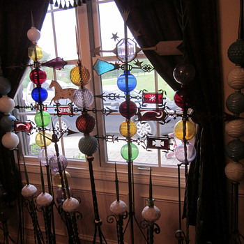 Lightning Rod Balls and Weathervane Collection