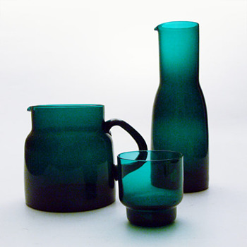 GRØNLAND, Per Lütken and Christel Holmgren (Holmegaard, 1960) - Art Glass