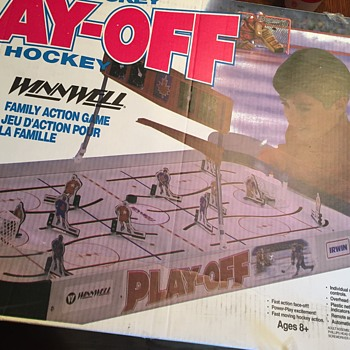 Jeu de hockey play-off Irwin winnwell
