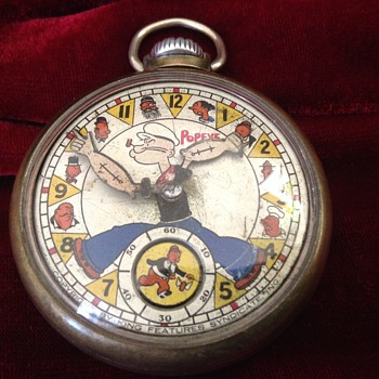 1st Edition Popeye Pocket Watch