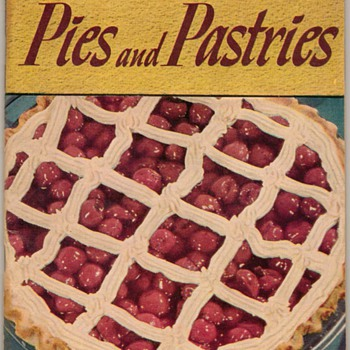 "1949 - Recipe Booklet ""Pies & Pastries"""
