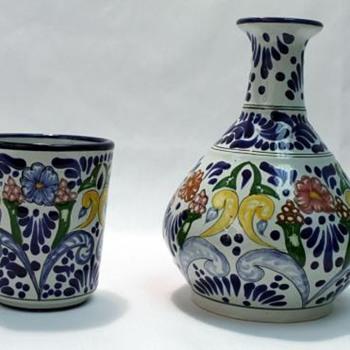 Talavera Mexican Pottery - Art Pottery