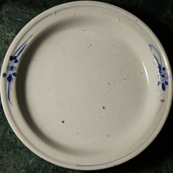 Very Old Chinese Plate