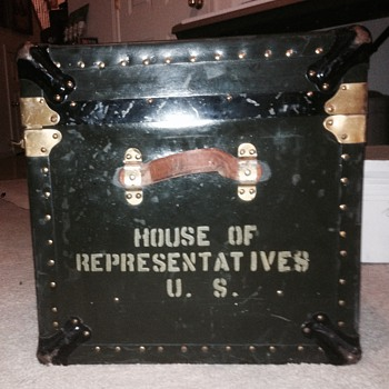 House of Representatives U.S. member trunk