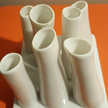 For Ho2cultcha! My organic tubes set of vases.