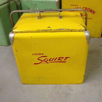 Squirt Progress Cooler - Advertising