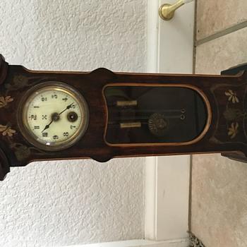 Clock found at Flea-Market. H.A.C ????