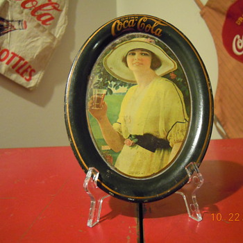 1920 Coca-Cola Change Tray