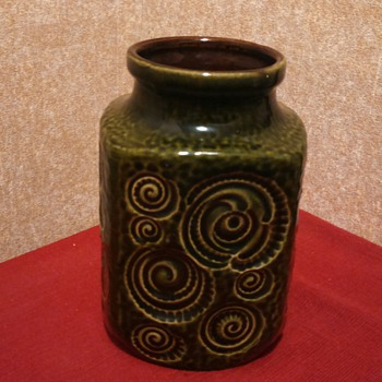 "Scheurich W.Germany""Ammonite"" Vase!"