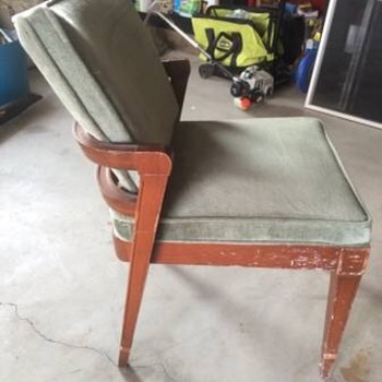 Any info on the age and maker of this chair would be greatly appreciated! - Furniture