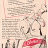 1950 Fritos Corn Chips Advertisement