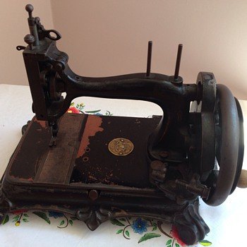 Grimme natalis sewing machine...