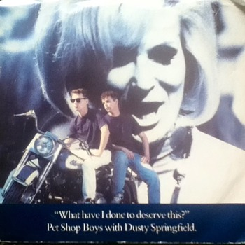 Pet Shop Boys w/Dusty Springfield 45 Record